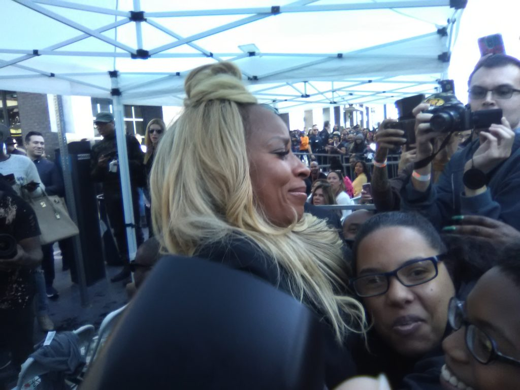 Mary J. Blige Hollywood Walk of Fame. PHOTO: Yevette Renee