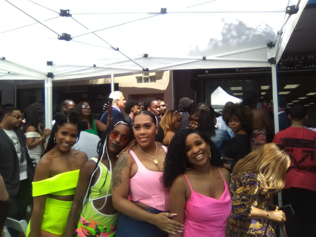 Teddy Riley's daughters and family. Photo: Yevette Renee