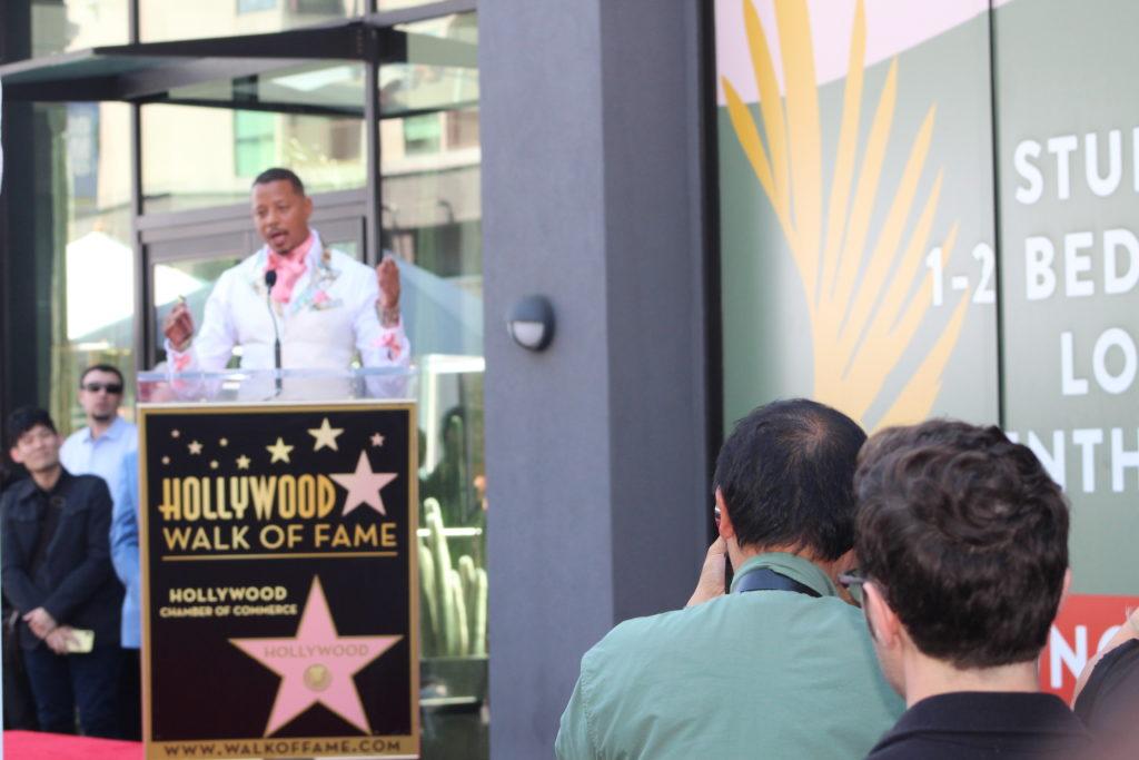 Terrance Howard Hollywood Walk of Fame. PHOTO: YEVETTE RENEE