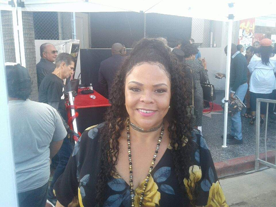 Tamala Mann at Tyler Perry's Hollywood Walk of Fame. Photo: Yevette Renee