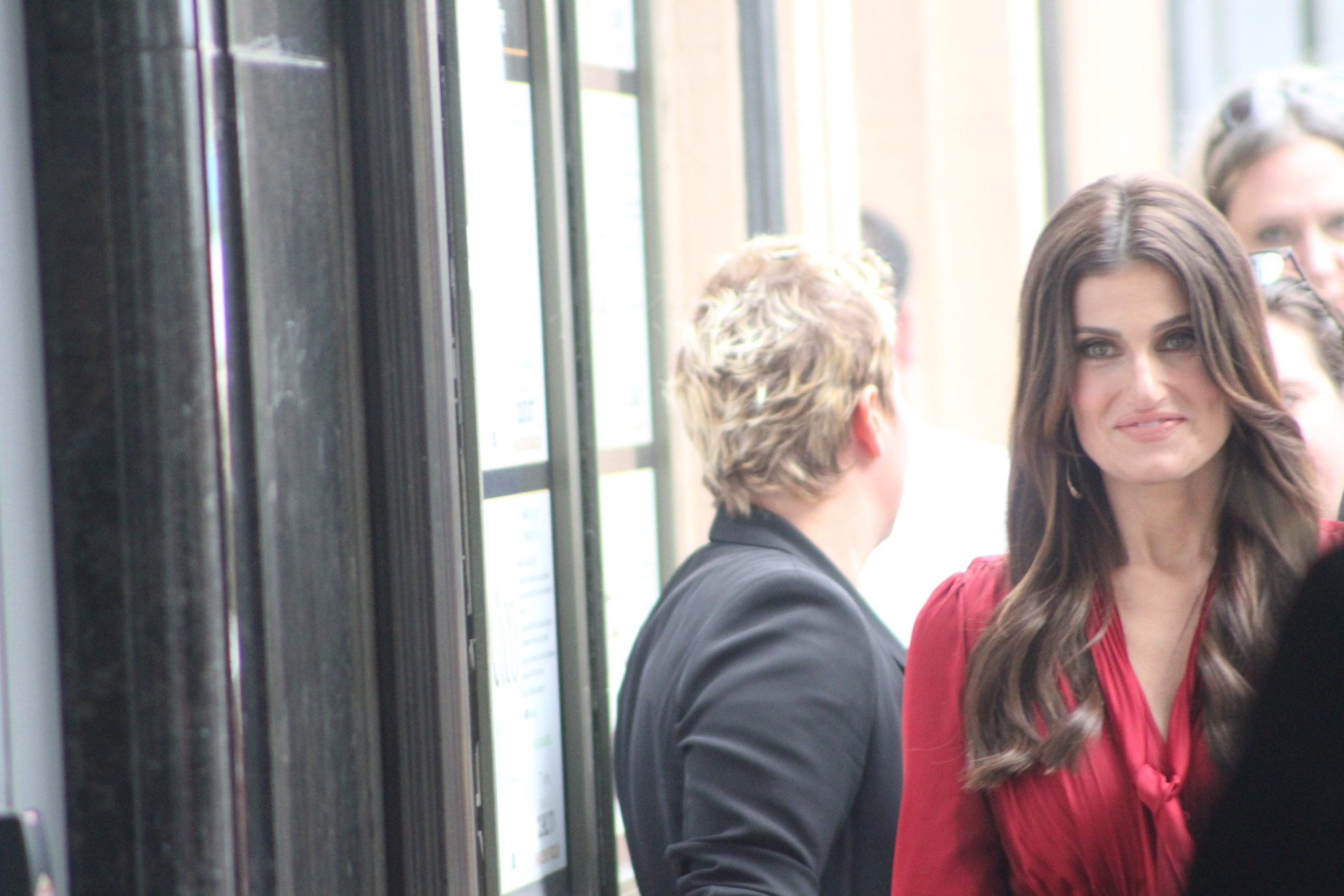 Idina Menzel Hollywood Walk of Fame. PHOTO: YEVETTE RENEE