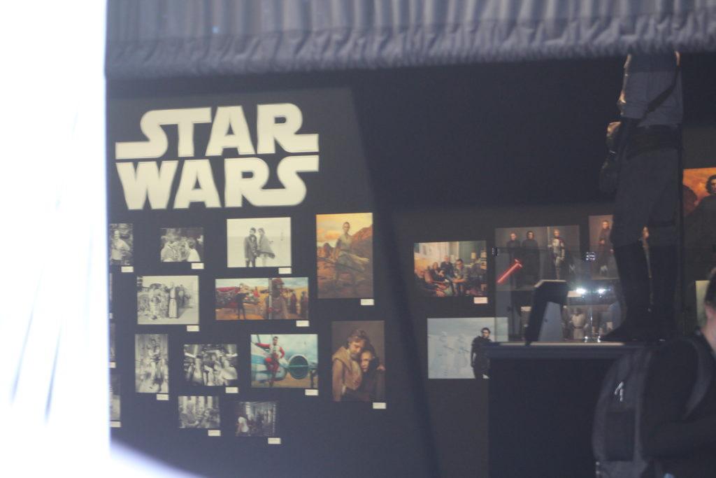 Inside the Star Wars: Rise of Skywalker World Premiere tent.