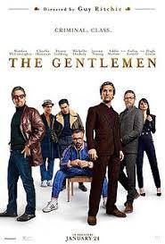 The Gentlemen key art