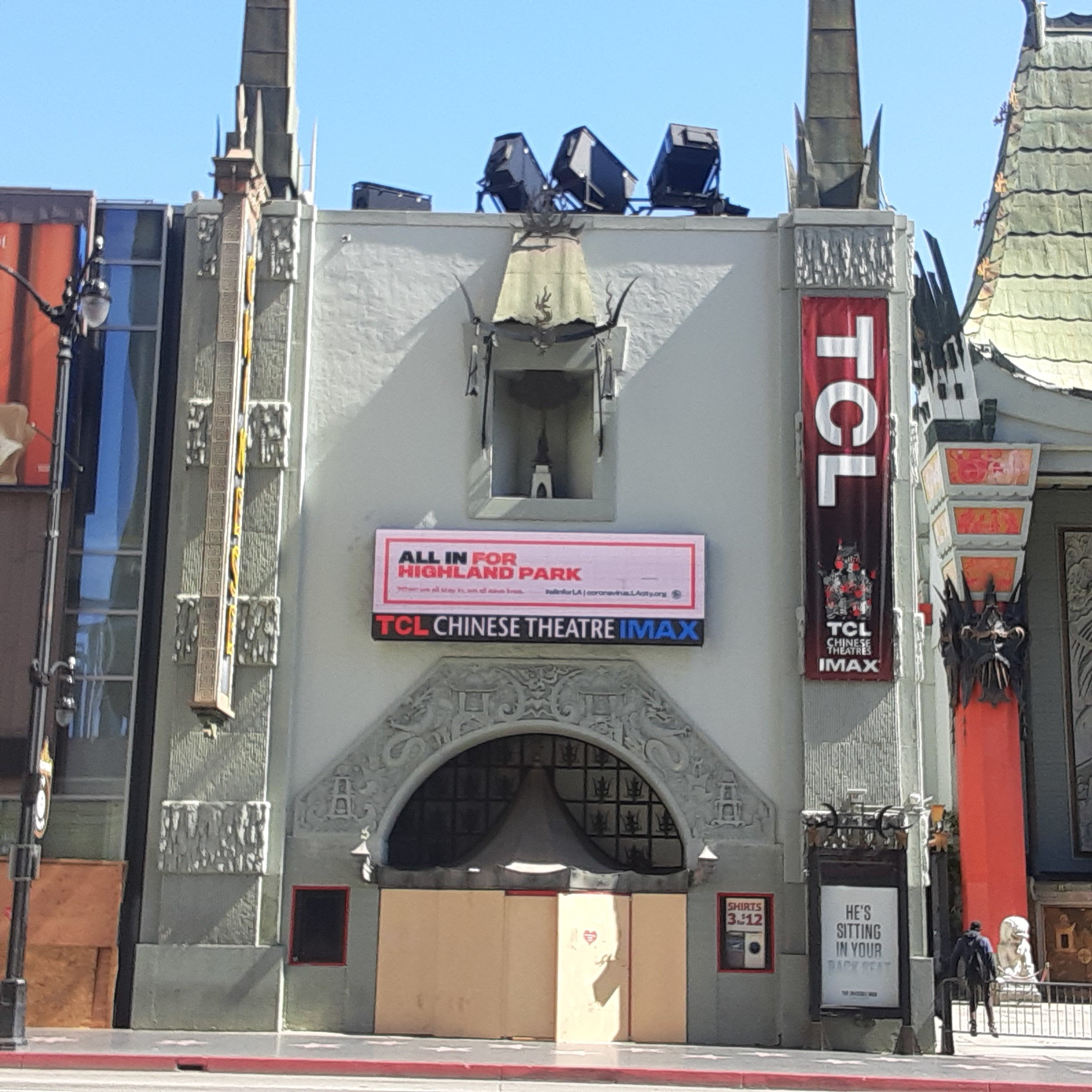 TCL Grauman's Chinese Theatre Boarded Up After George Floyd Protests