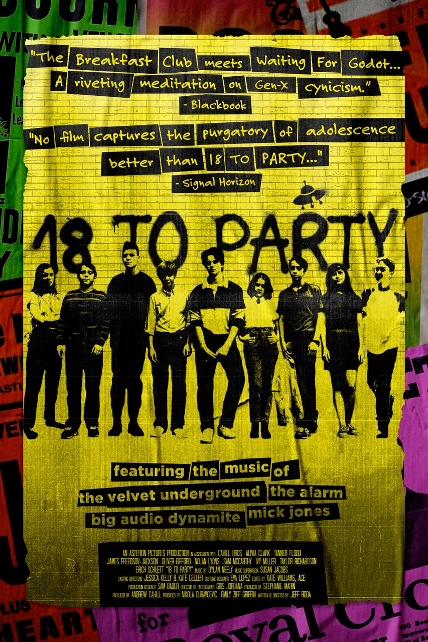 FINAL 18 TO PARTY POSTER