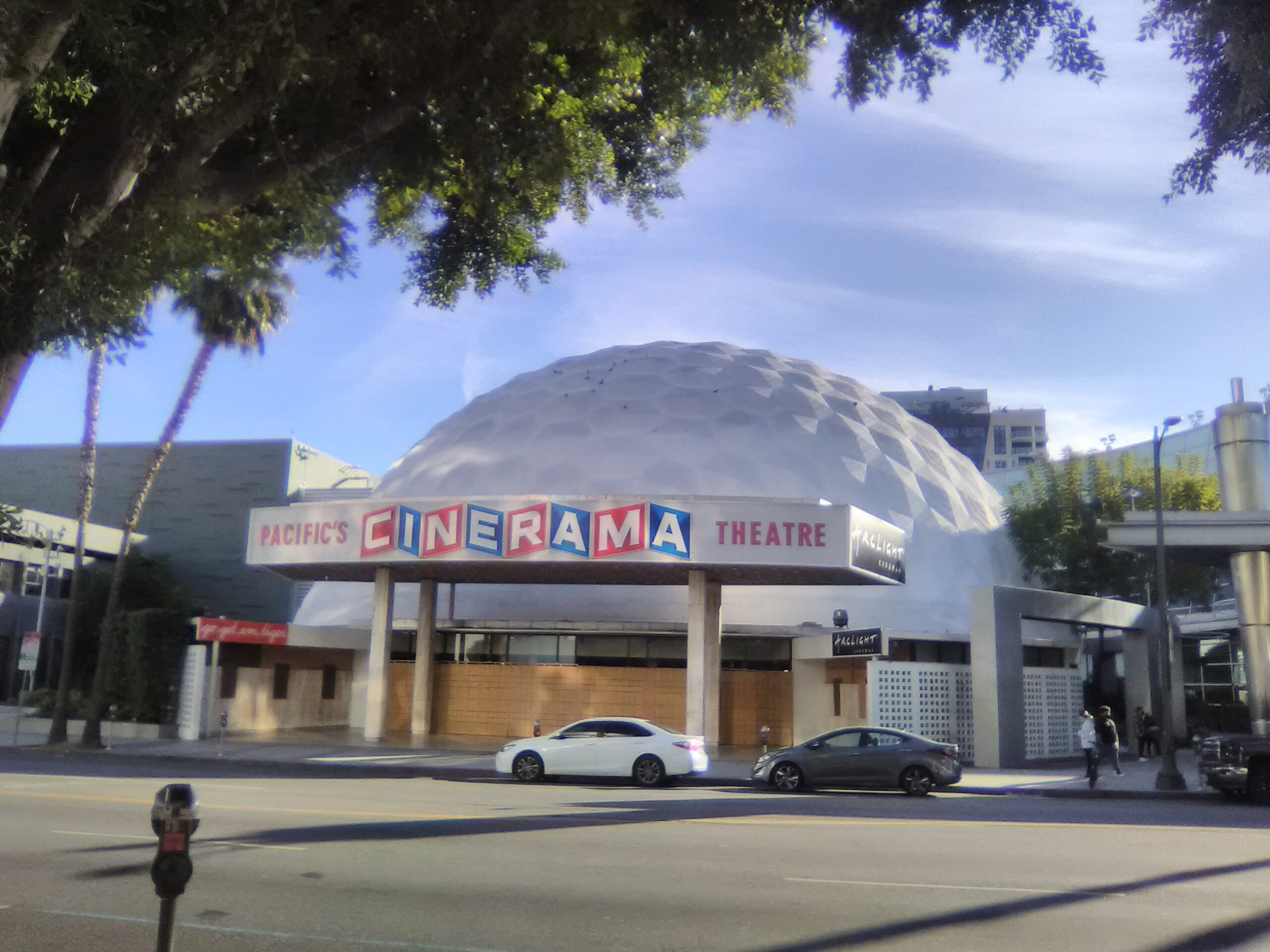 ArcLight Hollywood-Pacific Cinerama Dome Theater. Photo: Yevette Renee