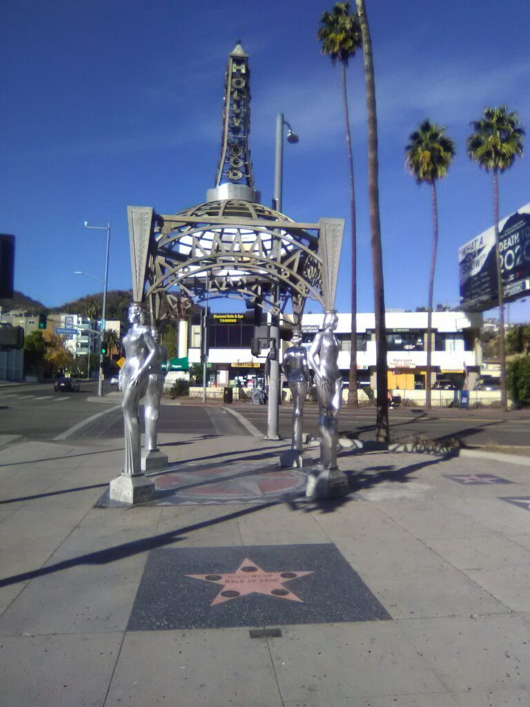 Hollywood Boulevard and LaBrea Avenue
