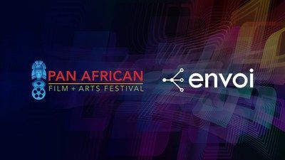 The Envoi platform will power the video on demand streaming for all virtual live events, virtual television shows to a world-wide audience across the Pan African Film Festival's website, and its newly launched TV networks.