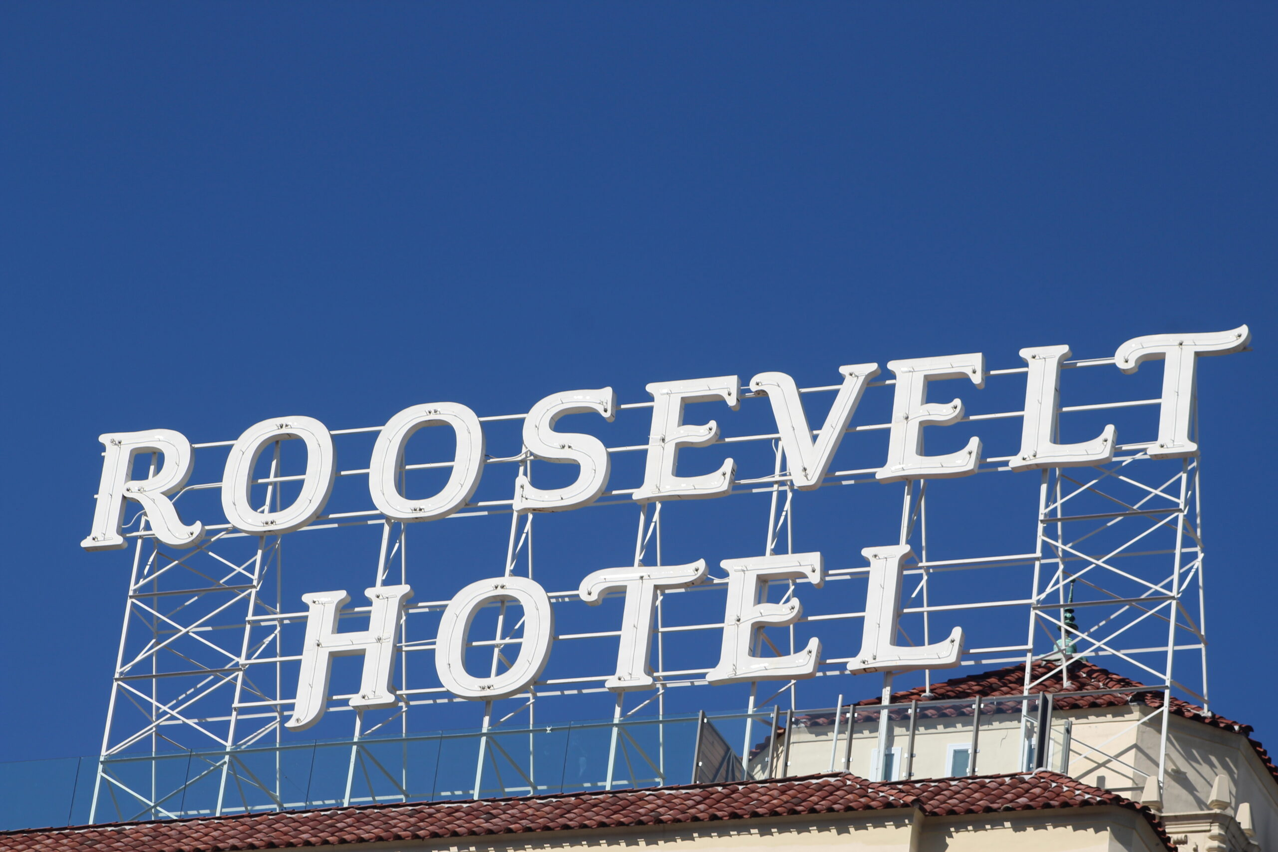 Hollywood Roosevelt Hotel. Photo: Yevette Renee