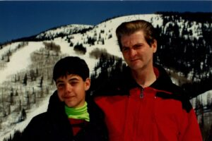 (L-R) Paul Lima and Albert Lima on skiing trip (Photo Credit: THIS IS JUST A TEST MEDIA)