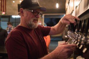 Dan Sundstrom (Ten Mile Brewing) in Christo Brock's BREWMANCE. (Photo Credit: