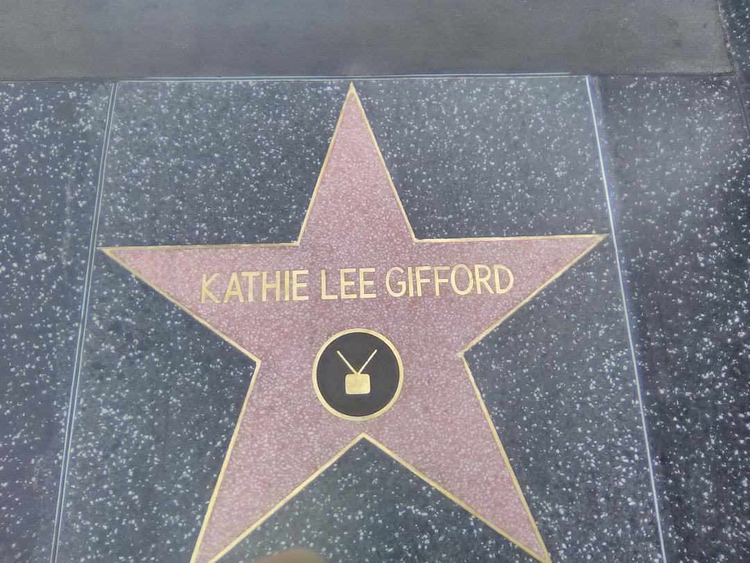 Kathie Lee Gifford Walk of Fame Star. Photo: Yevette  Renee