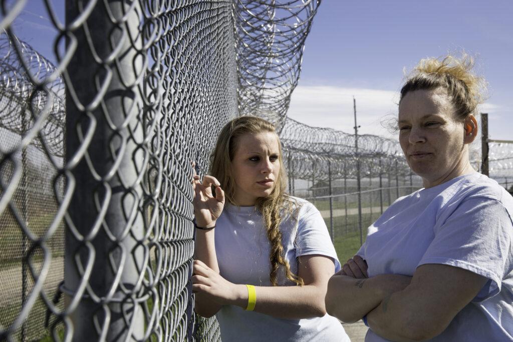 Jacinta and Rosemary at Maine Correctional Center, 2016.  Photo © Jessica Earnshaw.