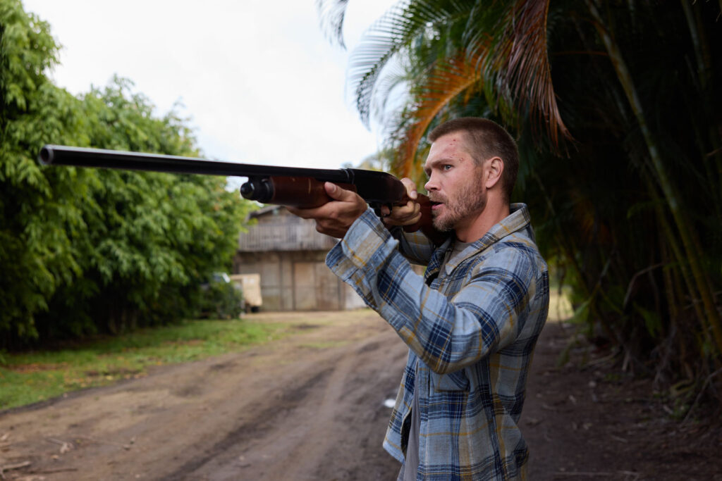 Chad Michael Murray as Eric in the action film, SURVIVE THE GAME, a Lionsgate release. Photo courtesy of Lionsgate